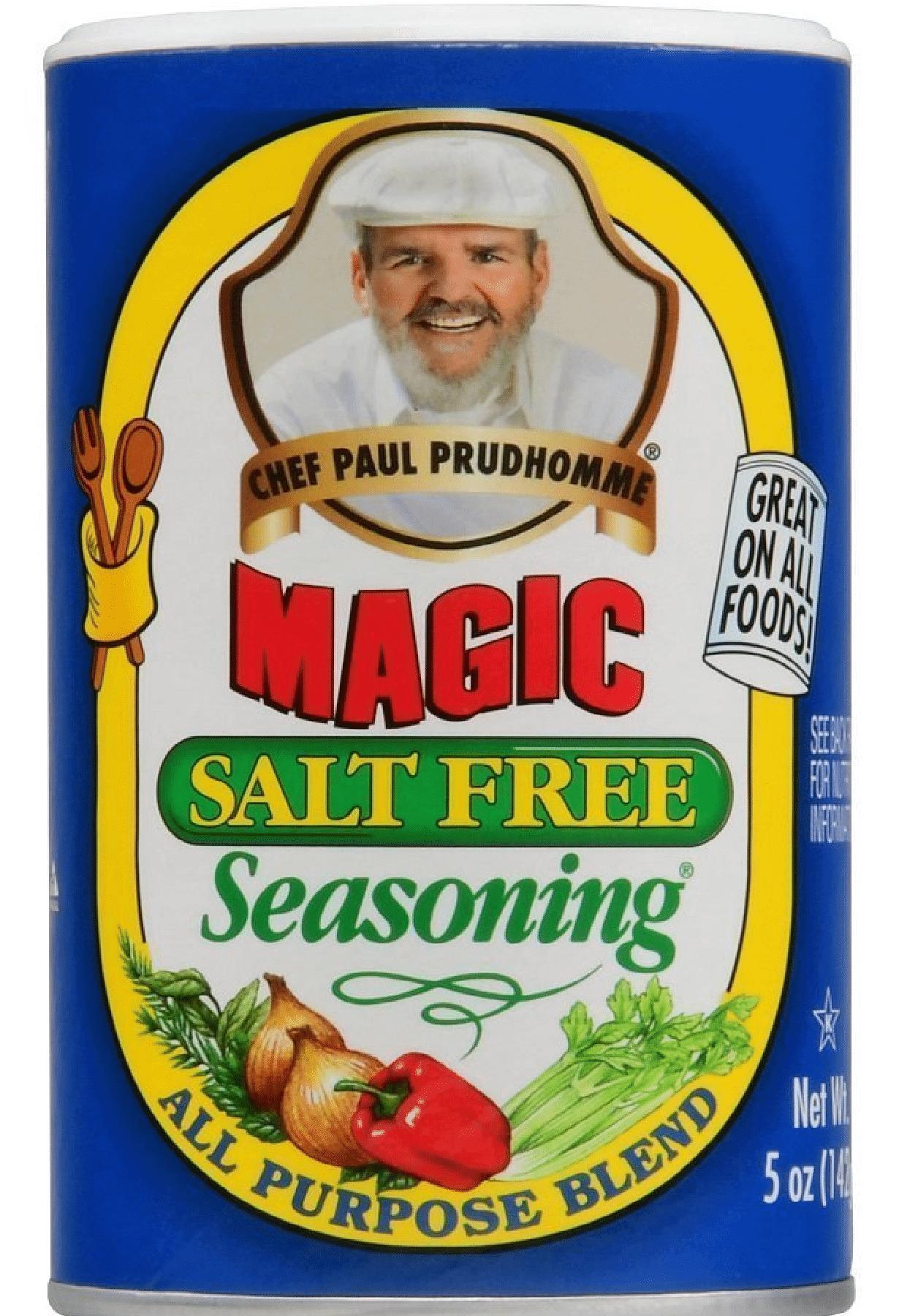 תיבול ללא מלח – מג'יק