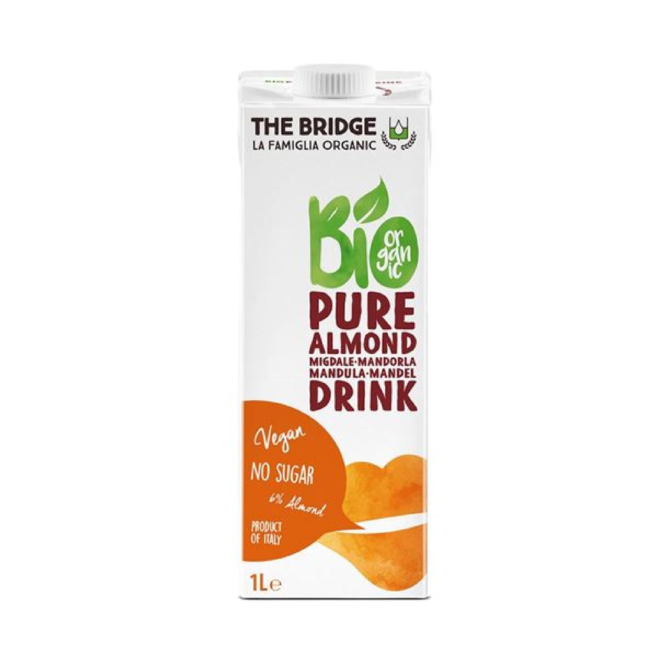 משקה שקדים 6 % טהור – דה ברידג'