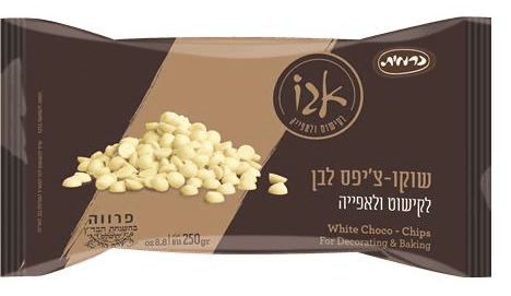 שוקולד צ'יפס לבן – אגו