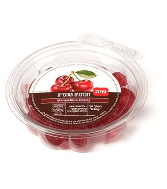 דובדבנים מסוכרים 80 גרם – מיה- ללא גלוטן