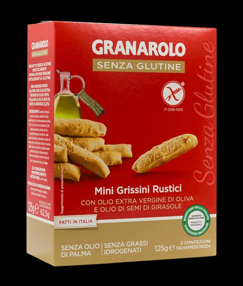 מיני גריסיני ללא גלוטן – גרנרולו