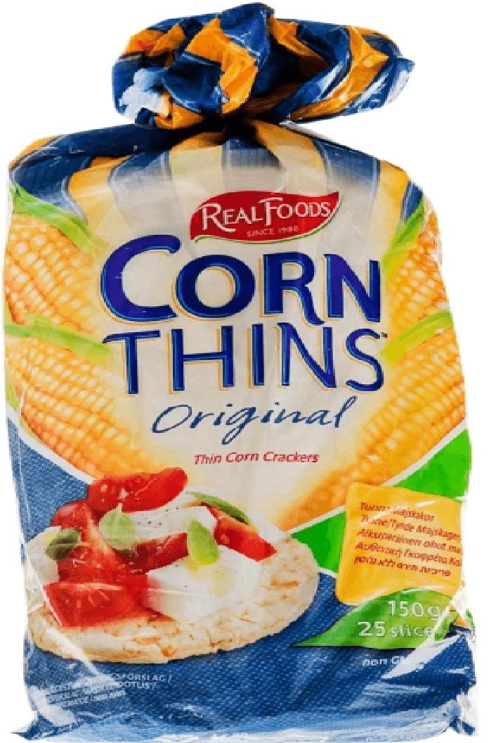 פריכיות תירס טעם אוריגינל – קורן סינס – ללא גלוטן