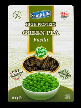 פוסילי על בסיס אפונה ירוקה – סאם מילס – ללא גלוטן