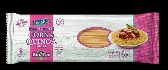 ספגטי תירס וקינואה – סאם מילס