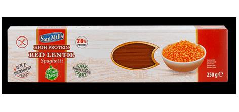 אטריות ספגטי על בסיס עדשים