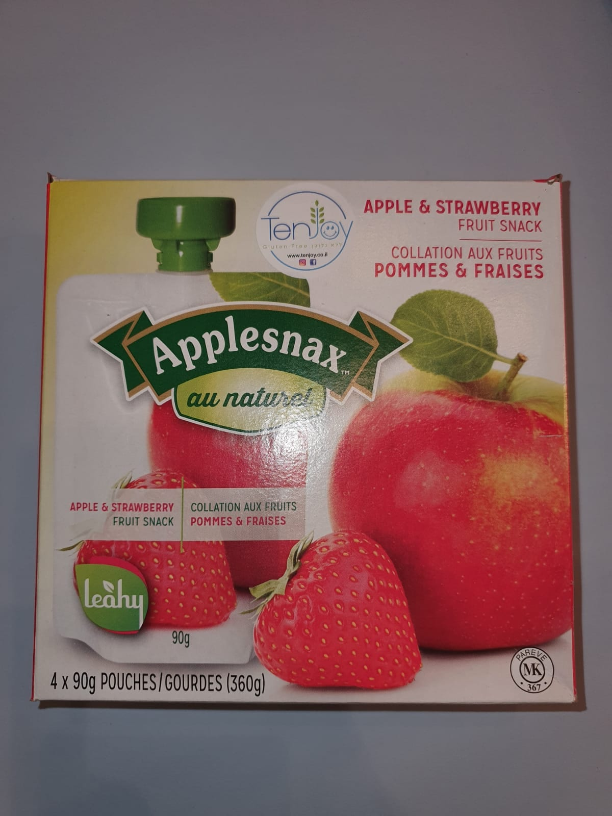 פאוץ תפוח תות – אפלסנקס