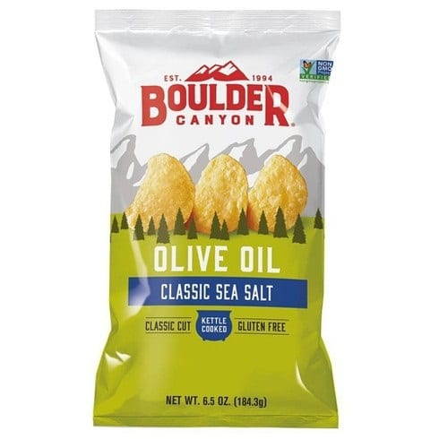 צ'יפס שמן זית ומלח ים – בולדר – ללא גלוטן