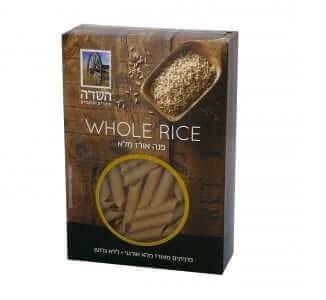 פסטה פנה אורז מלא אורגני בלי גלוטן