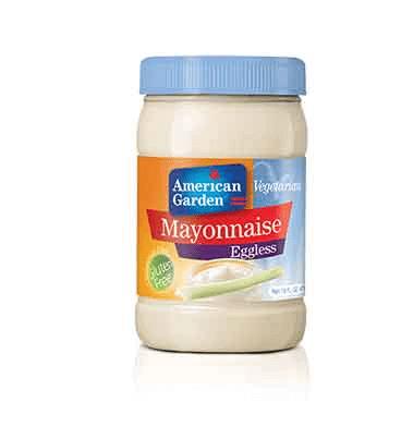 מיונז ללא ביצים טבעוני – אמריקן גארדן