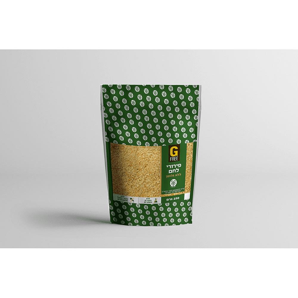 פירורי לחם ללא גלוטן – G FREE
