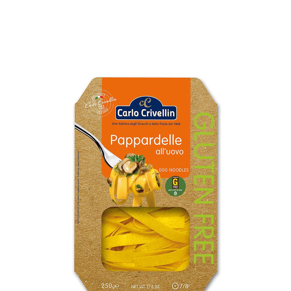 אטריות ביצים פאפארדלה ללא גלוטן- G FREE