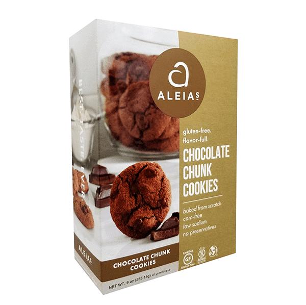 עוגיות שוקולד עם שברי שוקולד ללא גלוטן