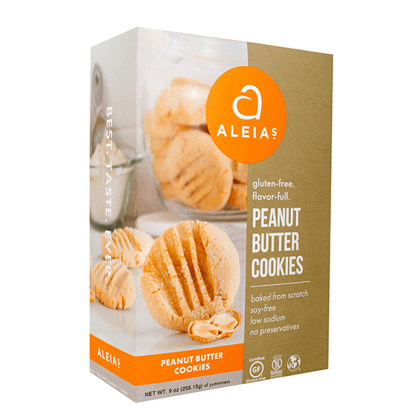 עוגיות חמאת בוטנים ללא גלוטן