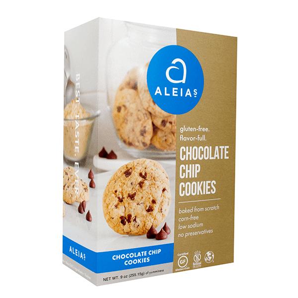 עוגיות שוקולד צ'יפס ללא גלוטן – ALEIAS