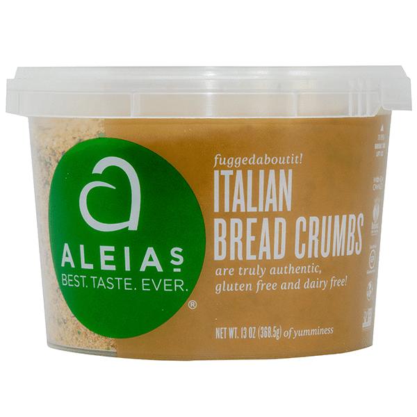 פרורי לחם ללא גלוטן בסגנון איטלקי – ALEIAS
