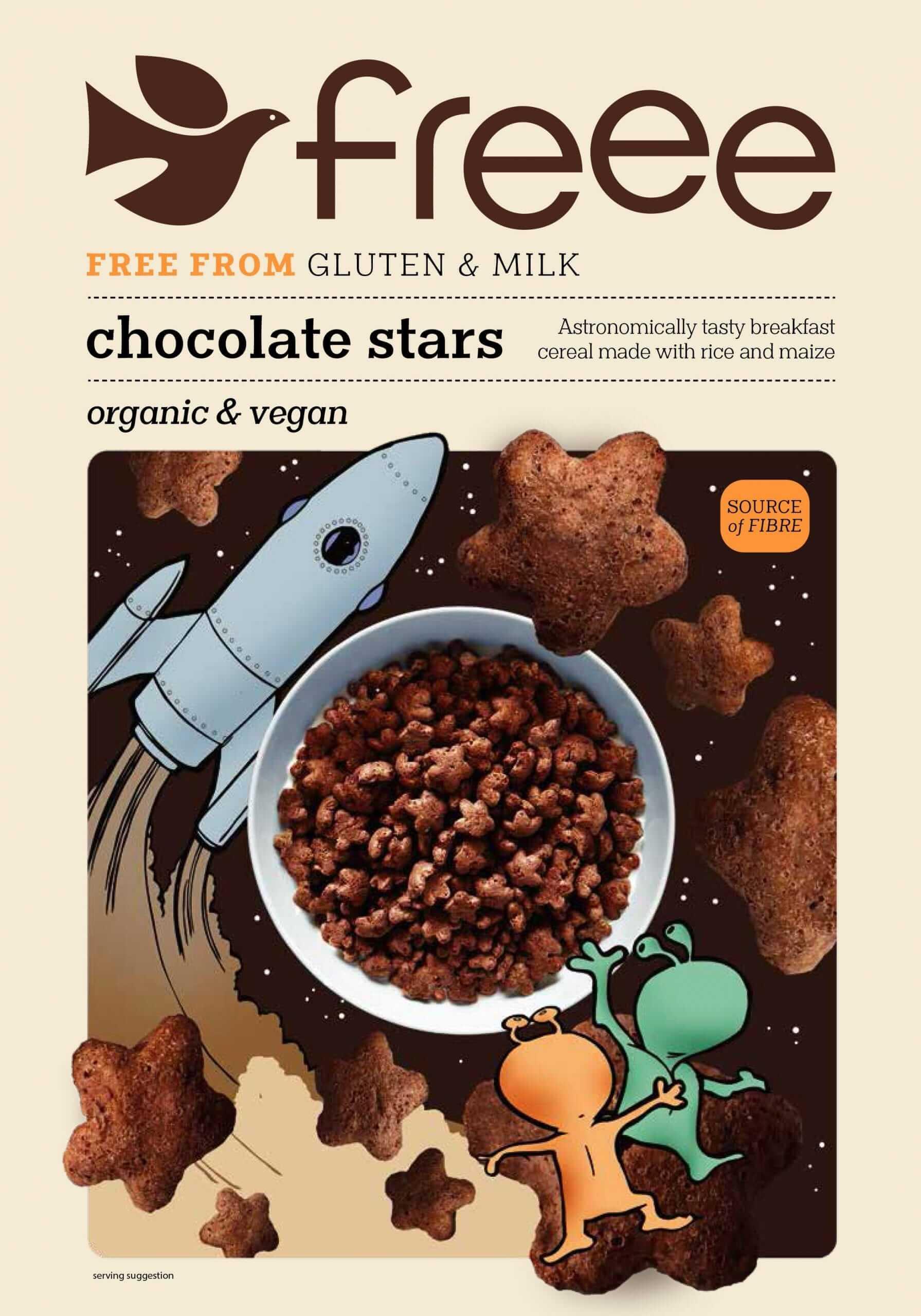 דגני שוקולד ללא גלוטן