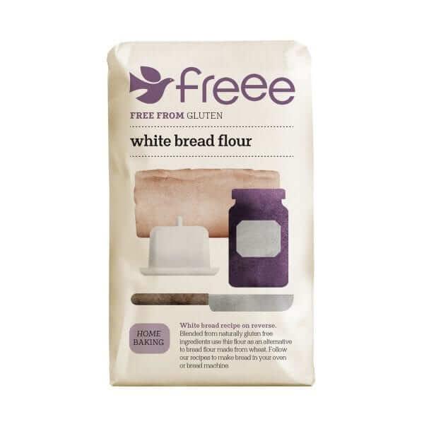 קמח לבן לחם ללא גלוטן