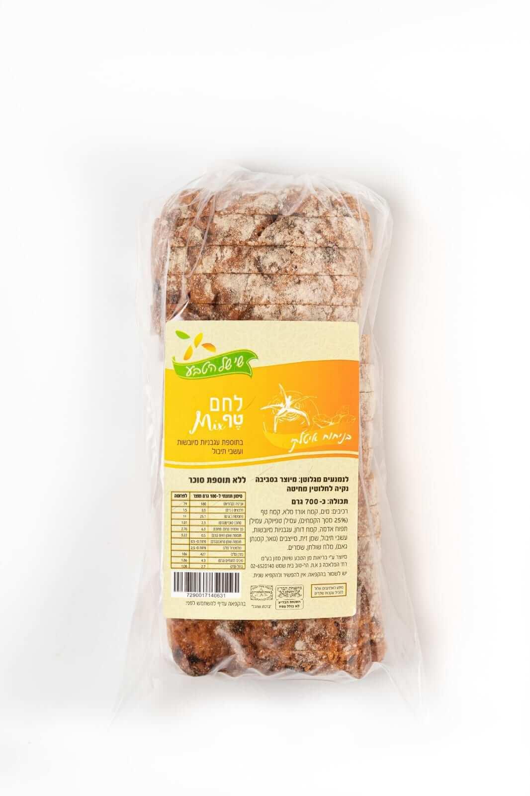 לחם מיקס טף איטלקי – שי של הטבע