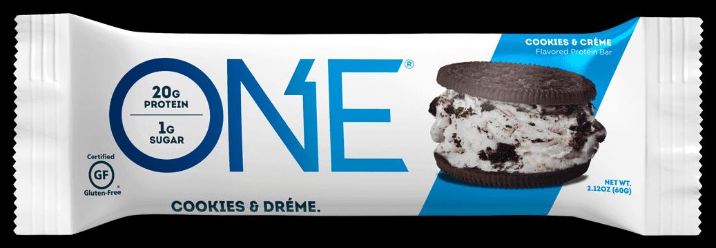 חטיף חלבון בטעם קרם עוגיות - ONE - ללא גלוטן