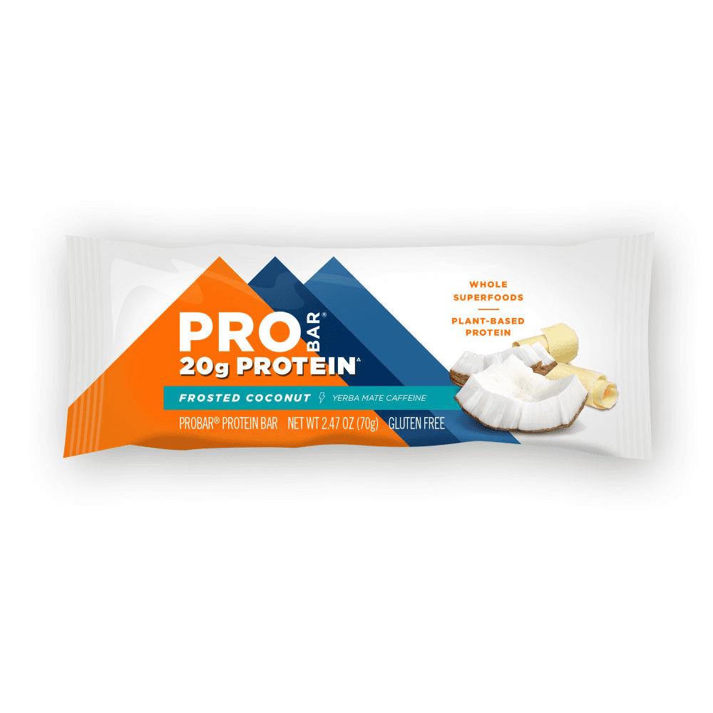 חטיף חלבון מצופה קוקוס - PROBAR ללא גלוטן