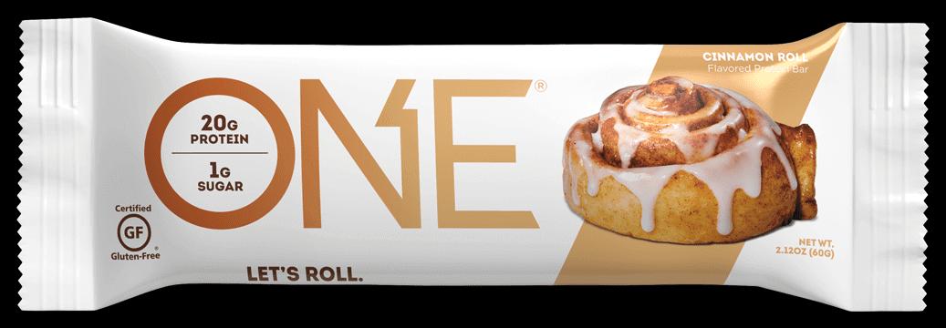 חטיף חלבון בטעם מאפה קינמון - ONE - ללא גלוטן