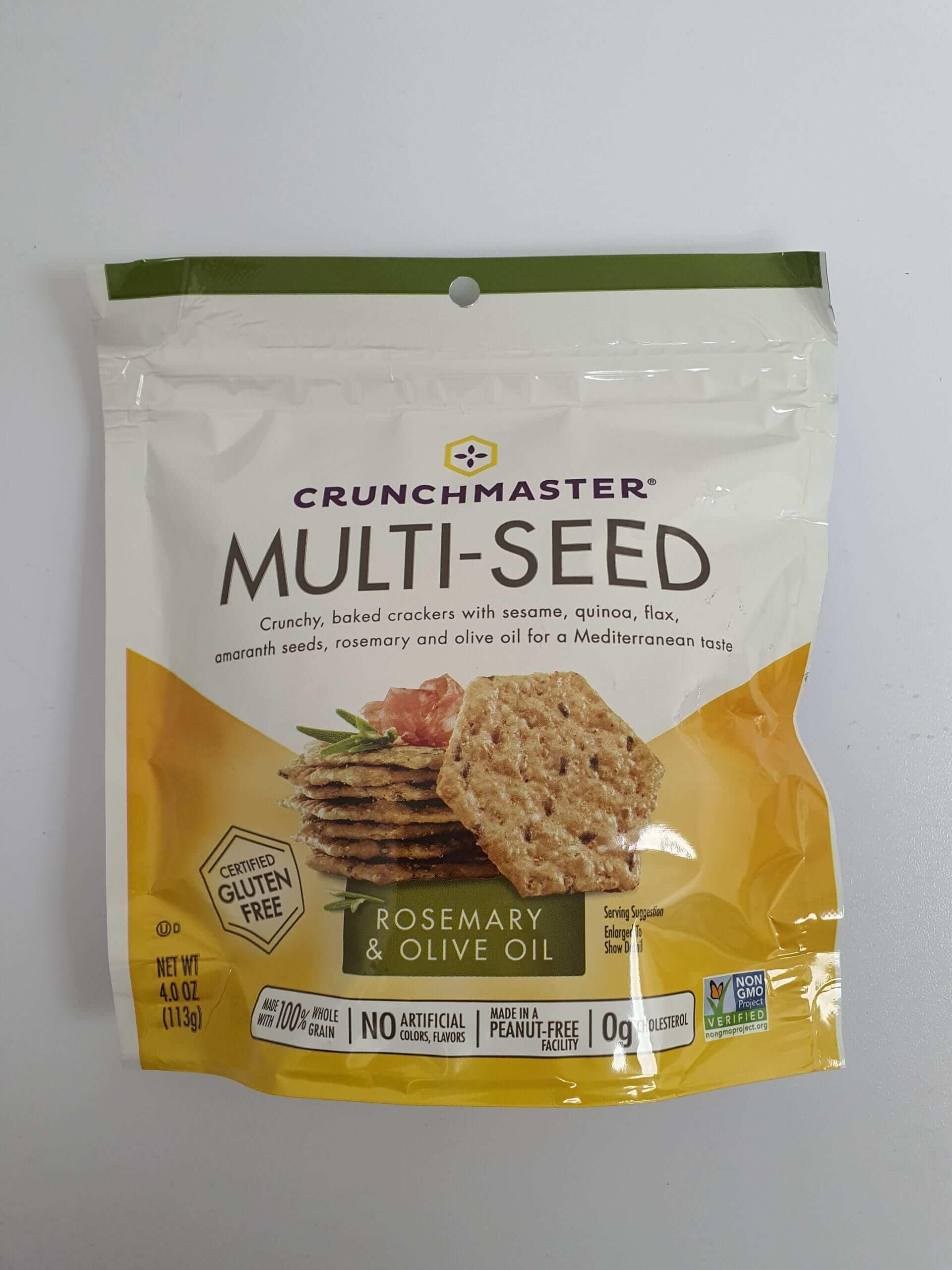 קראנץ מסטר- קרקר זרעים ללא גלוטן