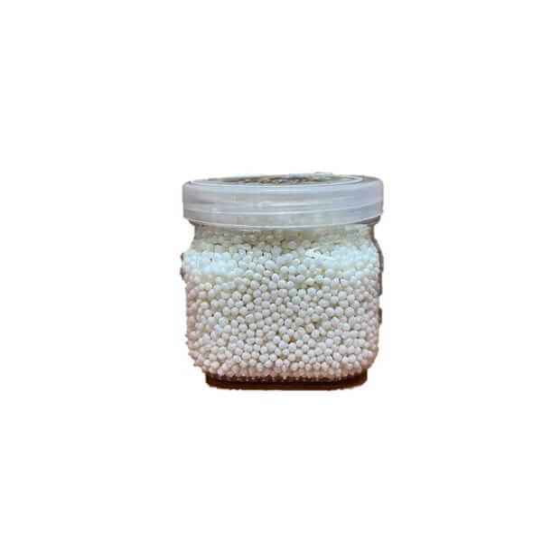 סוכריות לקישוט בצבע לבן