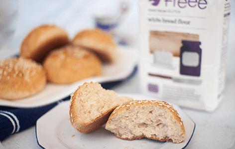 לחמניות ללא גלוטן מקמח Freee ללחם